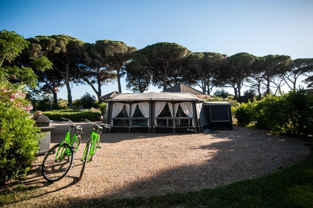 Luxury caravan - Podere Pianetti Camping Castagneto Carducci Toskana